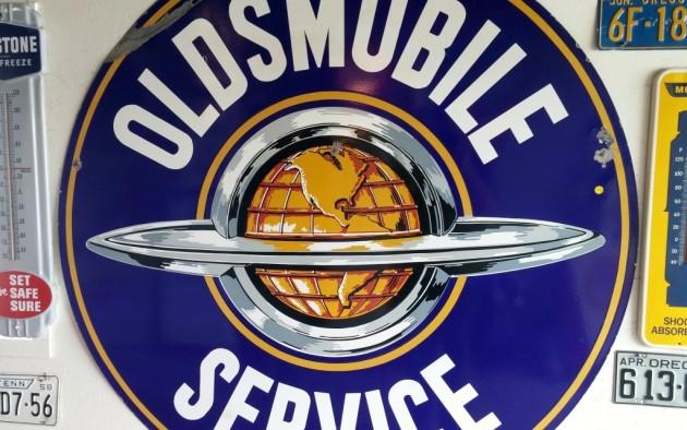 Oldsmobile Service Sign