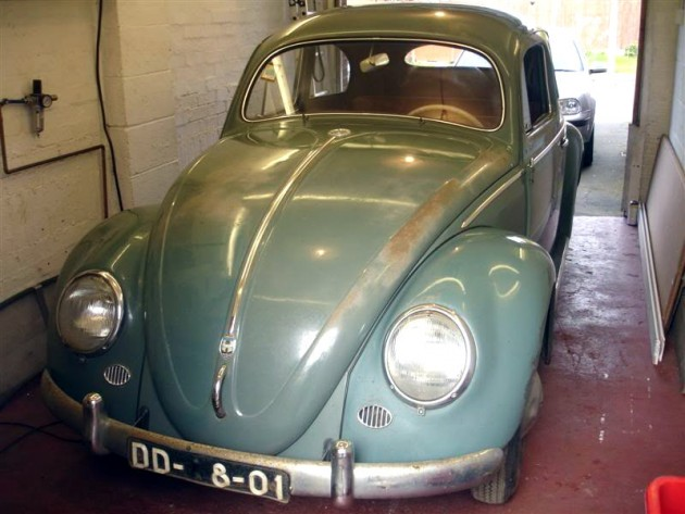 Polished '57 Beetle