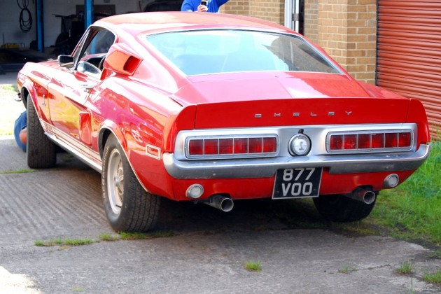 Shelby GT500 Barn Find