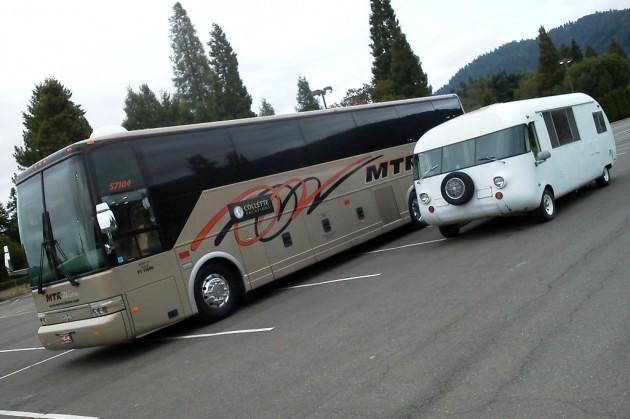 UltraVan Vs Tour Bus
