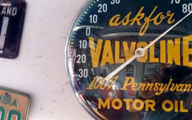 Valvoline Thermometer