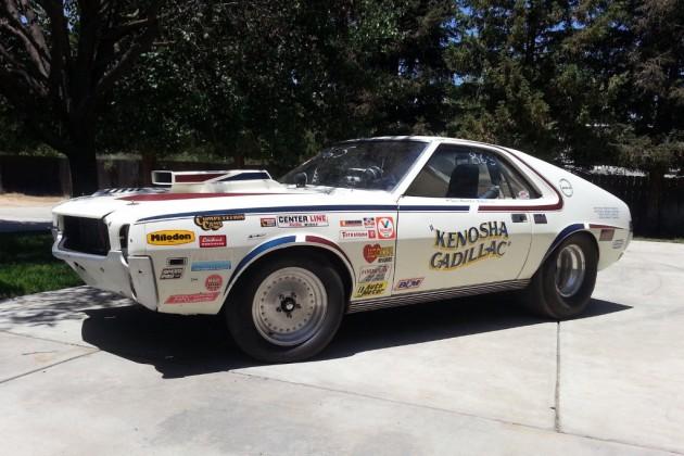 1968 AMC AMX Dragster
