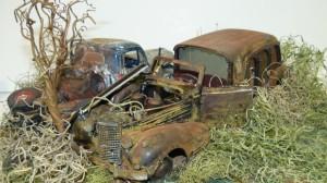 '48 Ford, '38 Cadi
