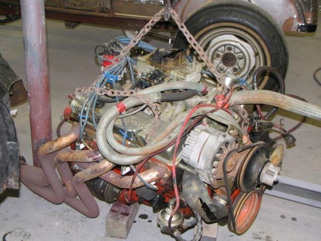 Camaro SS Engine