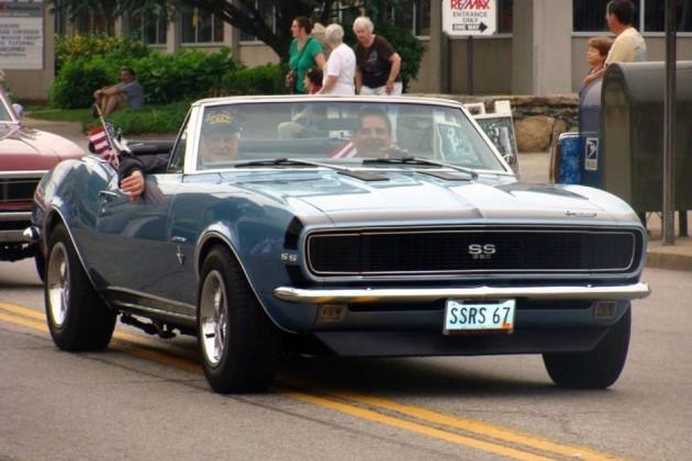 Finished '67 Camaro
