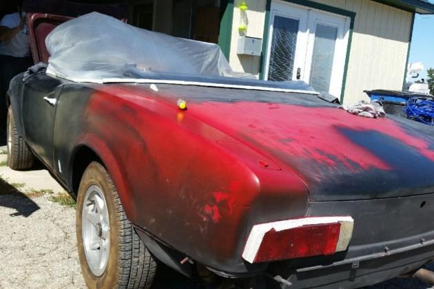 Patchwork Fiat 124 Spider