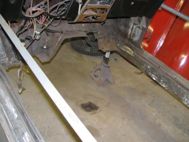Replacing Camaro Floors
