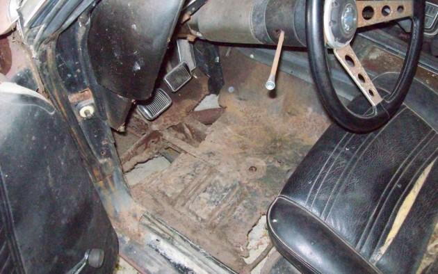 Rusted floors