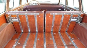 1953 Chrysler New Yorker Town & Country Station Wagon Int. Rear