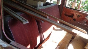 '49 Willys Station Wagon Seats