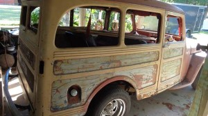 '49 Willys Station Wagon Right Side