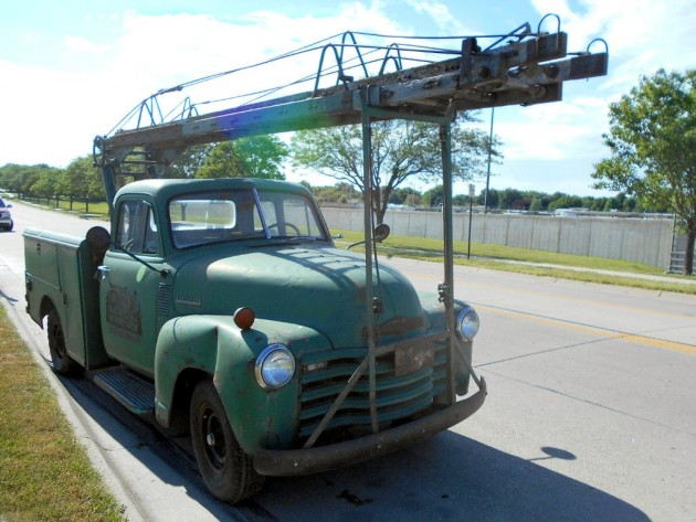 1951 Chevy Ladder Truck