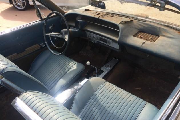 1963 Impala SS Convertible Interior