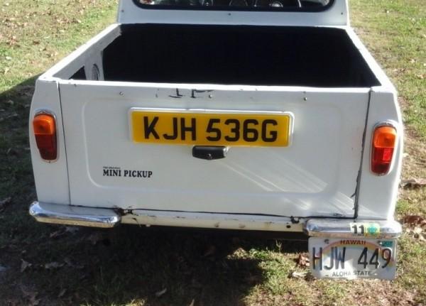 1971 Austin Mini Pickup rear