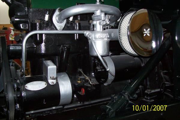 '28 Doodle Bug engine