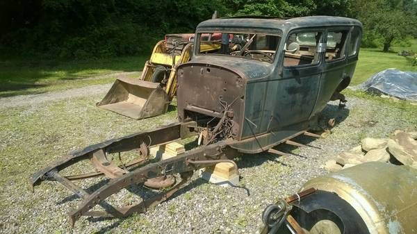 '34 Packard projects