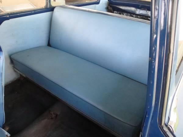 '55 Stude Wagon back seat
