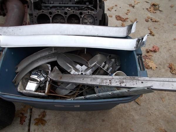'58 Vette trim