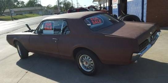 '67 Cougar left rear