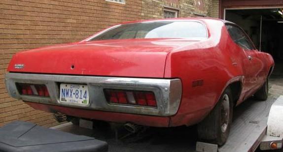 '71 Road Runner rear
