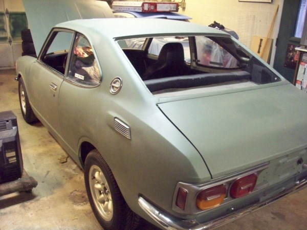 '72 Corolla left rear