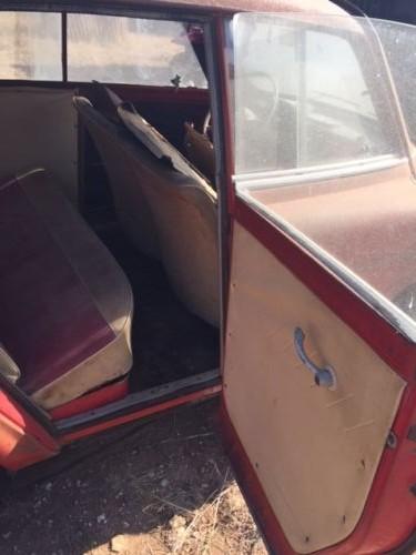 BMW 600 back door
