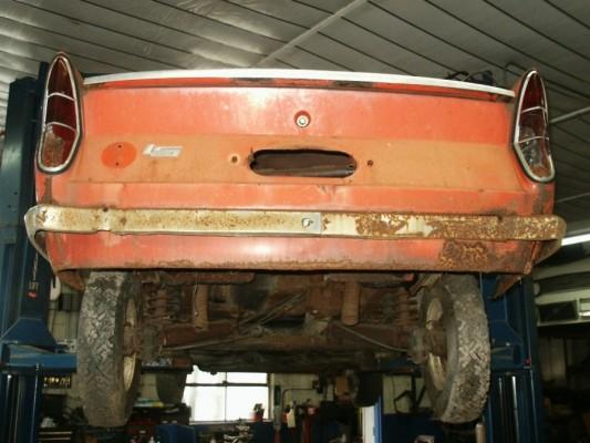 BMW '61 rear