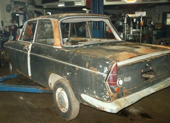 BMW '62 rear