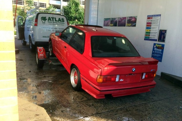 Cleaning up BMW M3
