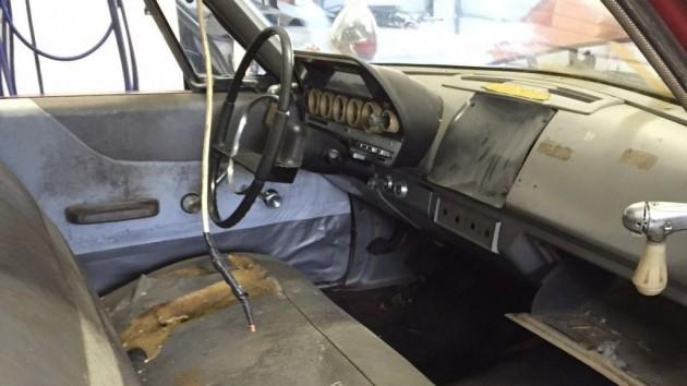 Fire Wagon Interior