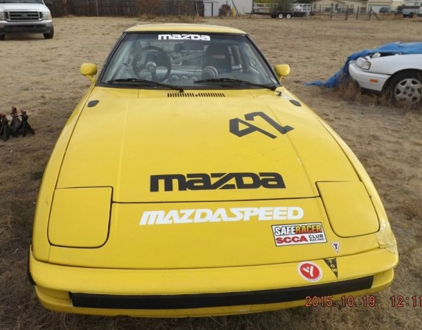 Mazda RX 7 race car front