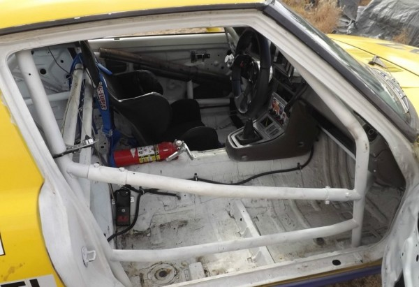 Mazda RX 7 race car intr.