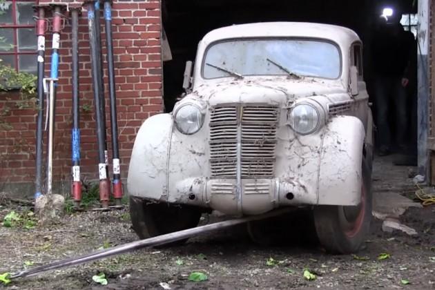 Opel Kadett Barn Find