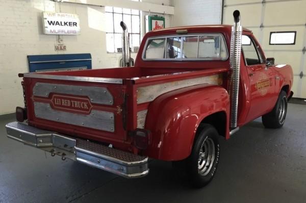'79 Lil Red rear