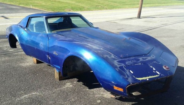 '73 Corvette Body Right Front