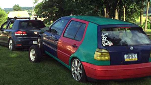 VW Harlequin Golf
