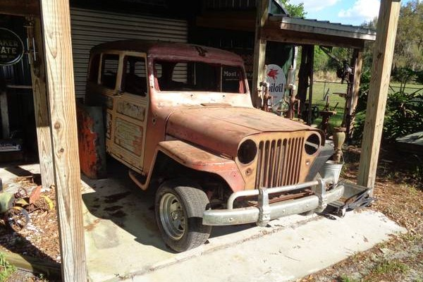 Willys Wagon Project
