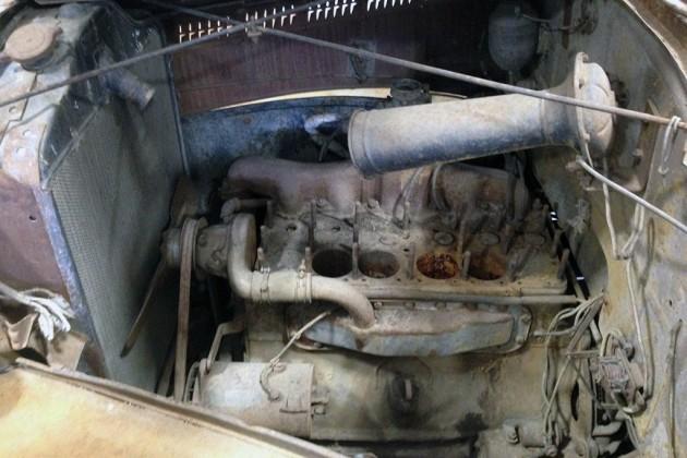 1937 Hudson Terraplane Truck Engine