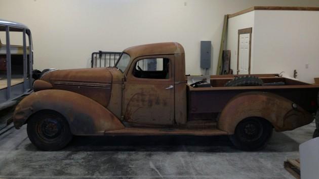 1937 Hudson Terraplane Truck