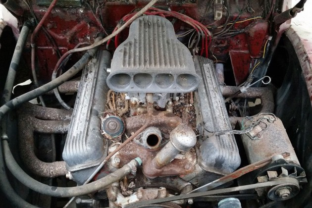 1940 Ford Coupe Engine