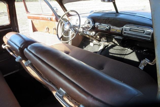 1951 Hudson Hornet Interior