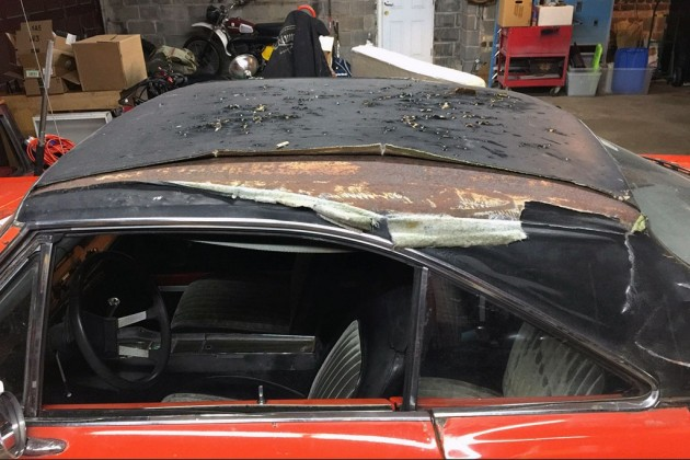 1969 Plymouth Barracuda Roof