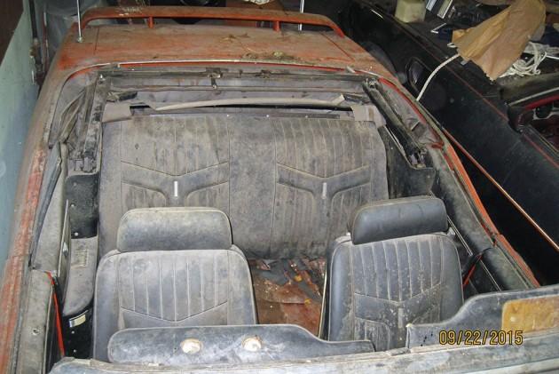 1969 Pontiac GTO Judge Convertible Barn Find 4