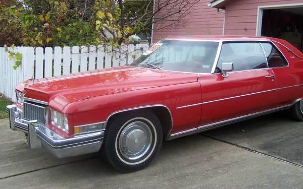 1973 Cadillac Coupe De Ville