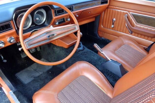 1974 Pinto Wagon Interior