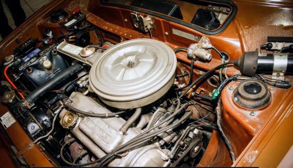 1975 Honda Civic Engine