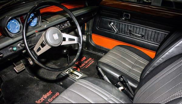 1975 Honda Civic Interior
