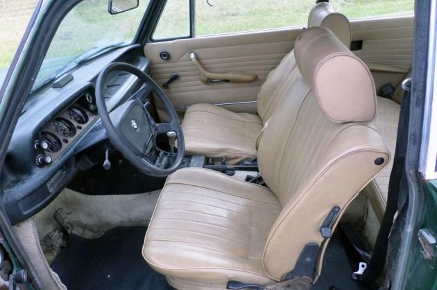 1976 BMW 2002 Interior