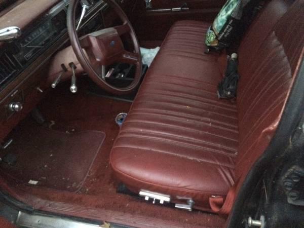 1986 Ford Wagon Interior