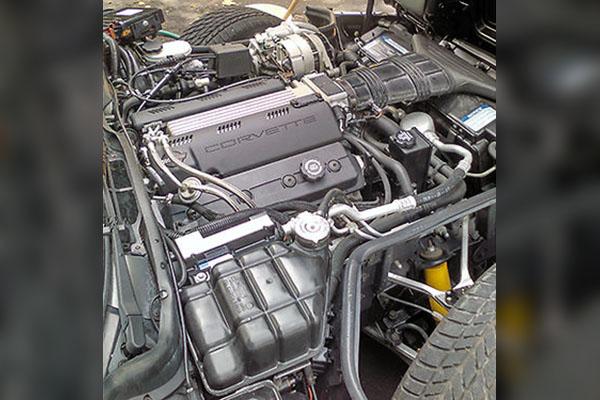 1993 Corvette Coupe Engine